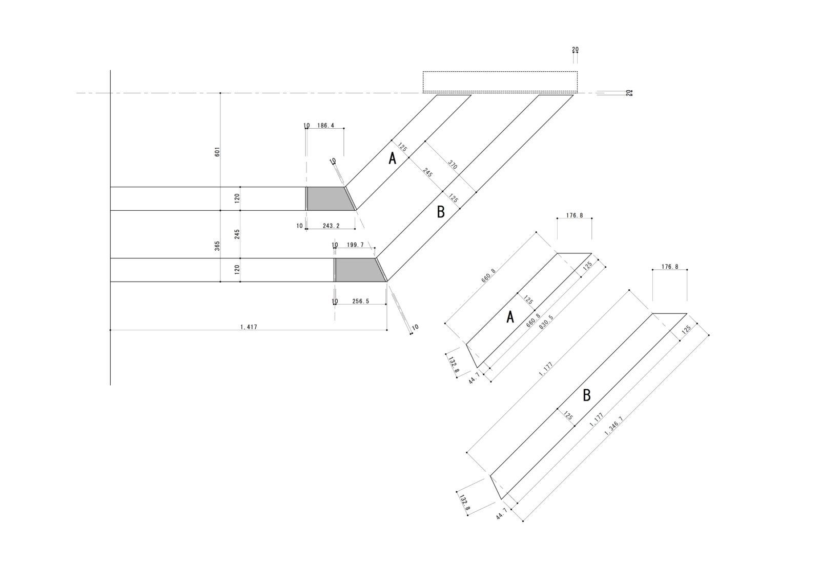 石框 施工図
