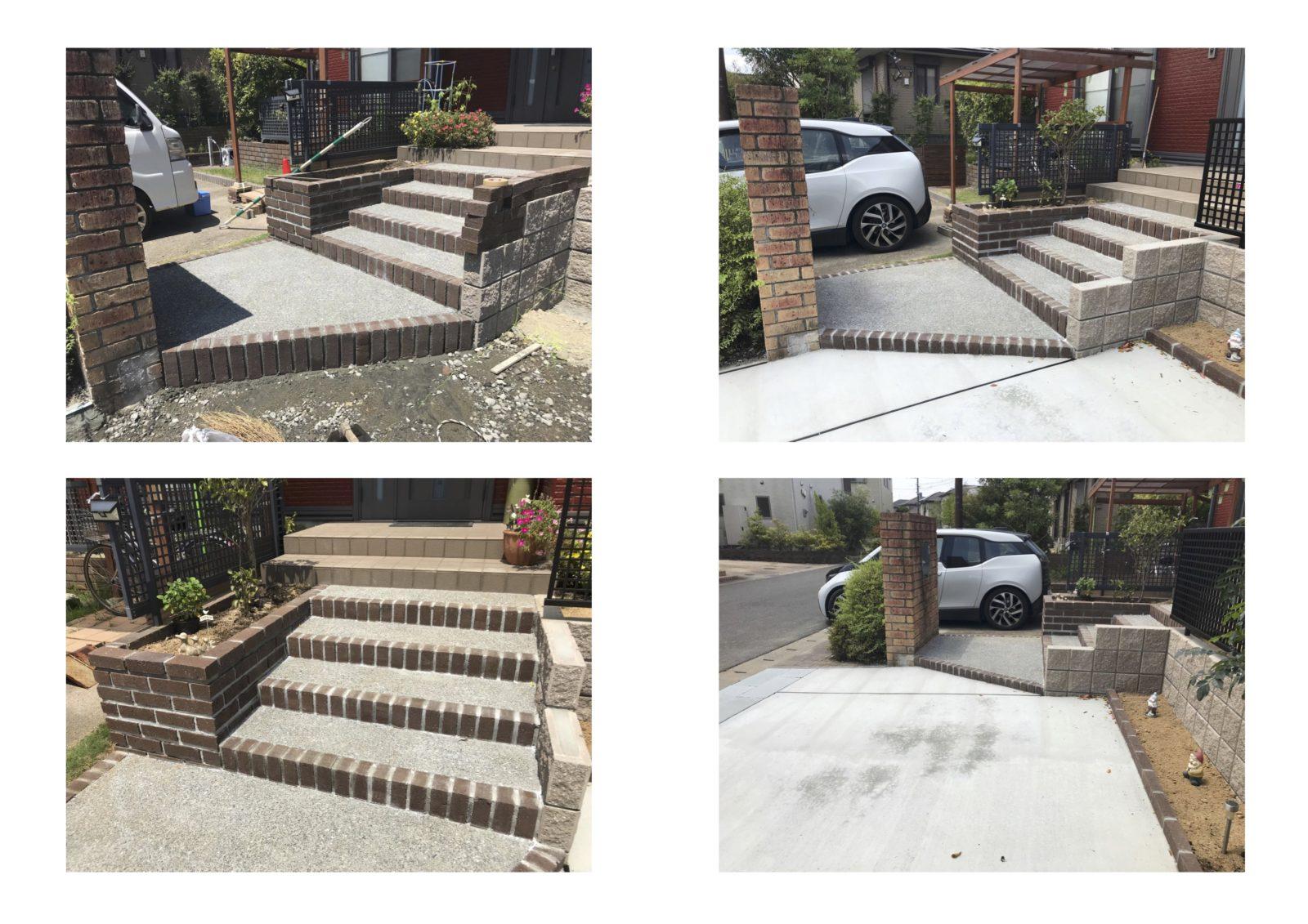 階段作り変え